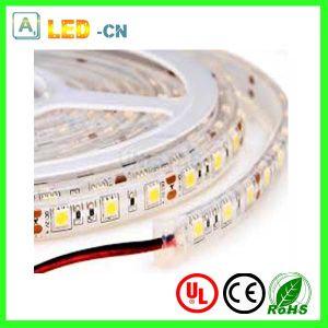 5050 flexible resistente al agua IP65 tira de cinta de LED