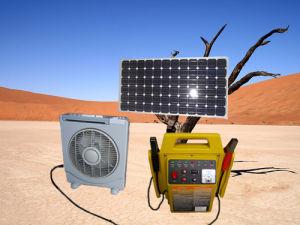 Ventilatore-Joysolar solare portatile di funzionamento del generatore