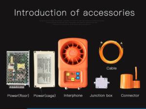 3 Конструкция Interphone Frenquencies чрезвычайных голосовой домофон Добро пожаловать система внутренней связи