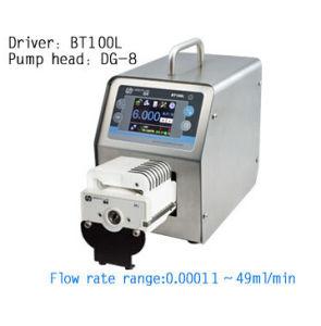 Bt100L dg10-8 (10 rollen, 8channel) de In het groot Nauwkeurige Flow Control/Intelligente Peristaltische het Doseren Pomp van het Buizenstelsel van het Laboratorium van de Industrie van het Water van de Pomp Vloeibare