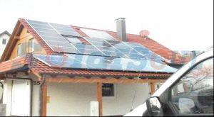 家の屋上(12KW)のための太陽熱発電システム