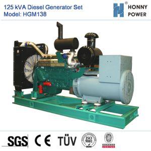 125 ква с генераторной установкой Googol дизельного двигателя 50Гц