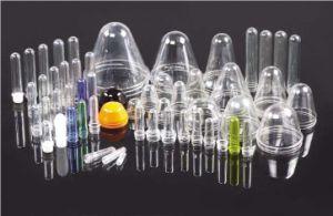 يشبع مجموعة من زجاجة [بلوو موولد] آلة تجهيز