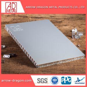 Painéis de alumínio alveolado de isolamento acústico para transporte de Metro/Metro