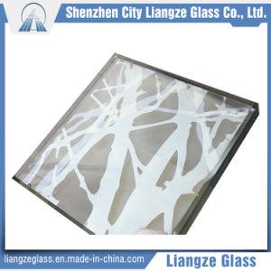 Dibujo abstracto Arte de vidrio para decoración