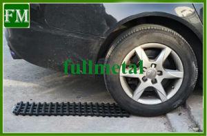 Ajuda de tracção de emergência carro portátil de areia de recuperação de aderência do pneu Vias