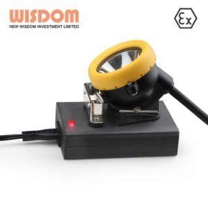 La sabiduría Minera de LED de batería de litio recargable Faro con una buena calidad