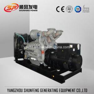 175kVA 140kw는 유형 Perkins 전력 디젤 엔진 발전기 세트를 연다