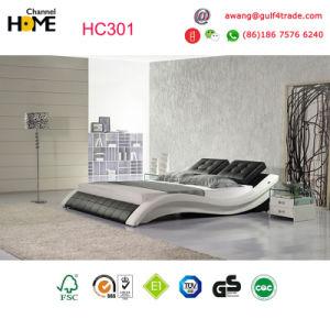 2017 Cheap moderne cuir Chambre avec lit King Size pour chambre à ...