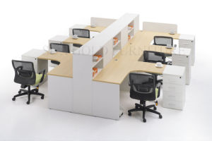 La Fábrica Moderna Personalizado 6 Persona de la Oficina del panel de estación de trabajo (SZ-ODT601)