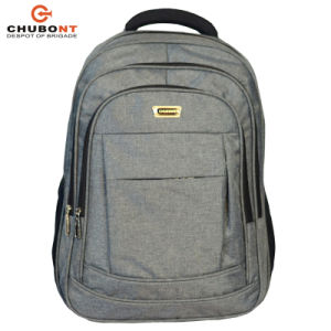 b86d05cf02629  شوبنت  جديدة تصميم لون رماديّ مسيكة الحاسوب المحمول حمولة ظهريّة حقيبة