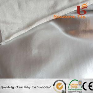 衣服のレインコートのための転送PUの上塗を施してあるファブリック