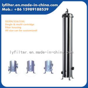 Food Grade 40'' Multi-Cartridge le logement du filtre en acier inoxydable pour RO du matériel de traitement de l'eau