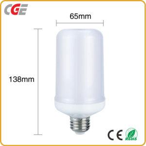 Efeito da chama candeeiro de parede LED para decoração luz LED de luz da lâmpada LED lâmpada LED