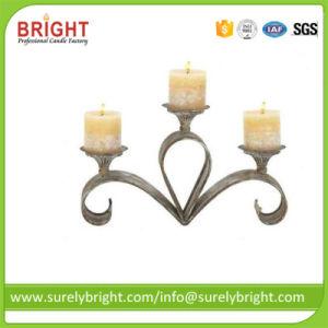 Bougies votives décoratifs sur les matériaux métalliques porte-bougie
