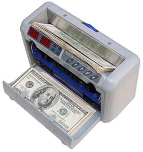 UV Dd Mg/T 최대 국부적으로 은행권 소형 유형 빌 카운터