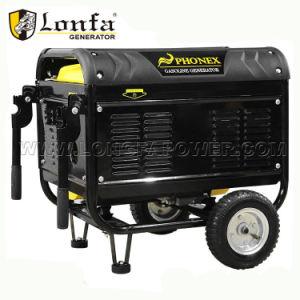 2 КВА 6.5HP бензина с низким уровнем шума генератора с помощью рукоятки и колеса