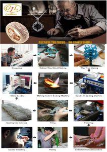 Горячая продажа ювелирных украшений моды дамы стерлингов Серебряное кольцо с каменными (R10989)