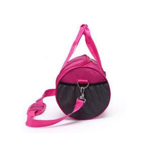 자주색 여행 체조 어깨 여가 옥외 운동 적당 더플 가방