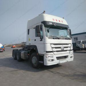 優雅な形成336HP 6X4 HOWOのトラクターはヘッド/トレーラトラックをトラックで運ぶ
