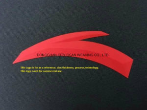 Personalize três bidimensionais (3D) Logotipo da transferência de calor de Silicone