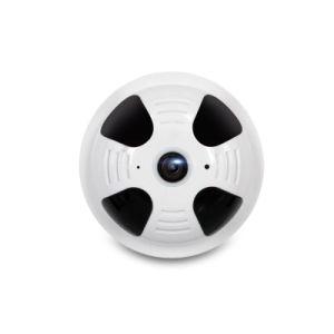 Panorámica de 360 a 1080p de forma de humo de la cámara IP WiFi Vr