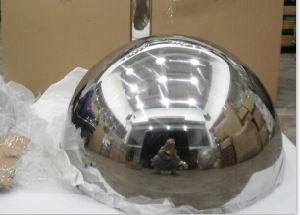 sfera vuota mezza dell'acciaio inossidabile di 100mm-3000mm, sfere mezze dell'acciaio inossidabile