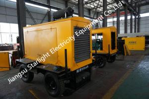 generatore raffreddato ad acqua di potere di 500kw 625kVA del generatore del rimorchio portatile diesel del Cummins Engine