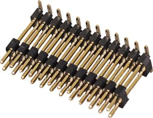 2.54 2.00 1.27mm personalizzano il connettore maschio del passo