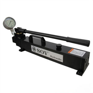 Ultra haute pression pompe hydraulique manuelle