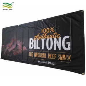 Полиэстер рекламный баннер/флаг цифровой печати на открытом воздухе (B-NF02F06024)