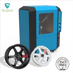 Fabricante de máquina de la rueda de coche de pulverización de pintura, el equipo de rueda