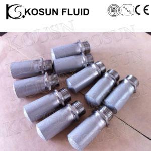 0.22um tot 300um Titanium Powder Sintered Roestvrij staal Filter Tube