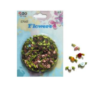リボンのローズの装飾的な花(FRR-04)を詰めるギフト