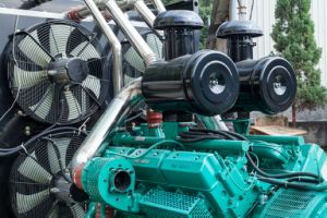 建築現場のためのタイプ強力なディーゼル発電機を開きなさい