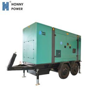 판매를 위한 Honny 힘 트레일러 유형 발전기 디젤