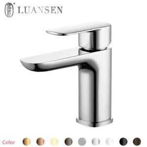 Luansenの金の単一のハンドルの洗面器のミキサー