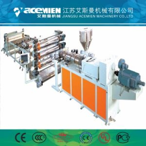 Haut de page feuille PVC marbre artificiel Panneau mural Machine Profil