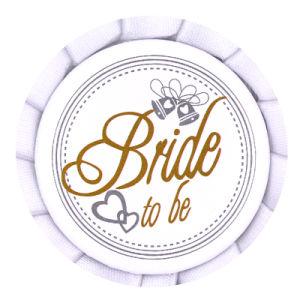 Sposa della festa nuziale da essere distintivo poco costoso degli involucri di Nleg del piedino
