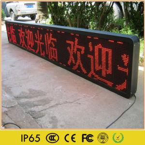 P10 de l'exécution de la publicité Module à LED de message