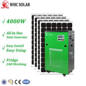 4000W de salida de CA de la generación de energía solar para uso doméstico