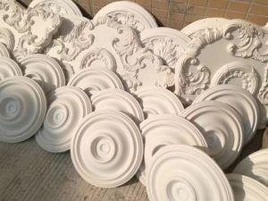 83067 Médaillons de plafond en polyuréthane souple pour la décoration d'accueil