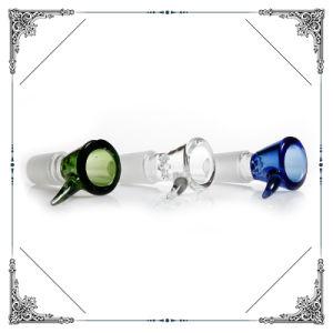 Macho de vidrio de 14,4 mm 18,8 mm de recipientes para la pantalla de los tubos de fumar Bowl mayorista de accesorios en stock