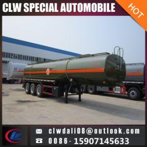 Ätzender flüssiger Tanker-Transport-halb Schlussteil, Edelstahl-Becken-halb Schlussteil mit Qualität