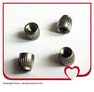 Acier inoxydable 304 ou 316 bouchon conique de l'écrou de cône avec Kurling conique, M16