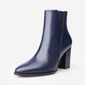 Mujer zapatos de cuero auténtico Botas de alta calidad