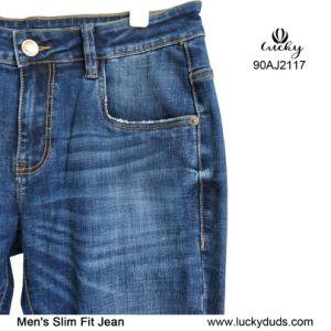 Джинсы Denim голубой хлопок Slim лампа длинные брюки пользовательский протокол Skinny