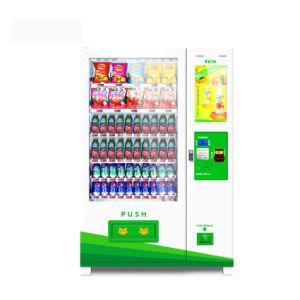 Automaat van Combo van de Verkoop van Tcn 2018 de Hete Met het Scherm 22 '' voor Drank en Snacks