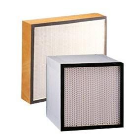 Фильтр HEPA с сепаратора с помощью деревянной рамы