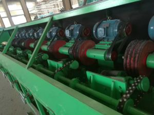 Automatisch Roestvrij staal/Koper om de Oppoetsende Machines van de Pijp